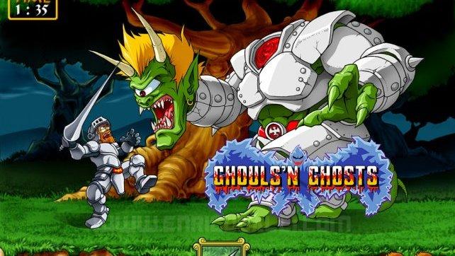 Ghouls'n Ghosts Lets Play