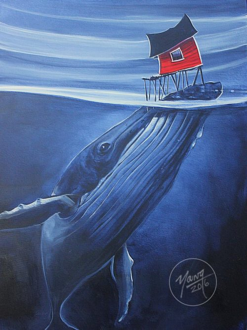 Jelly Painting By Newfoundland Artist Adam Young