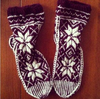 mum's christmas socks