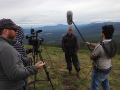 Haeckel Hill was used for a Canadian TV Series - Canada Over the Edge - with one episode featuring paragliding.