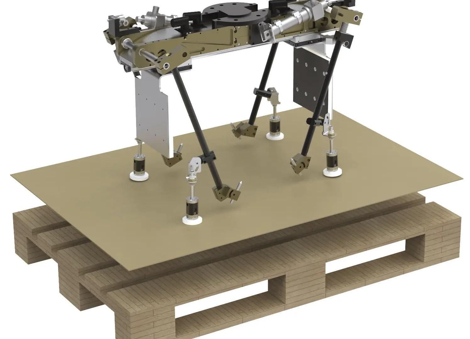 Sistema de paletizado LEG