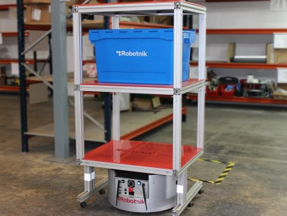Robotnik lanza su website para logística interior