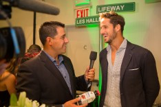 Feliciano Lopez Interview at Lifeway station