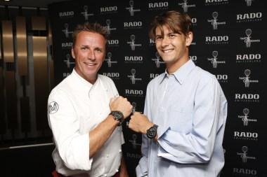 Marc Murphy and Jared Donaldson @ 2015 Taste of Tennis New York