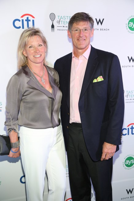 Citigroup CEO Michael Corbat and Donna Corbat