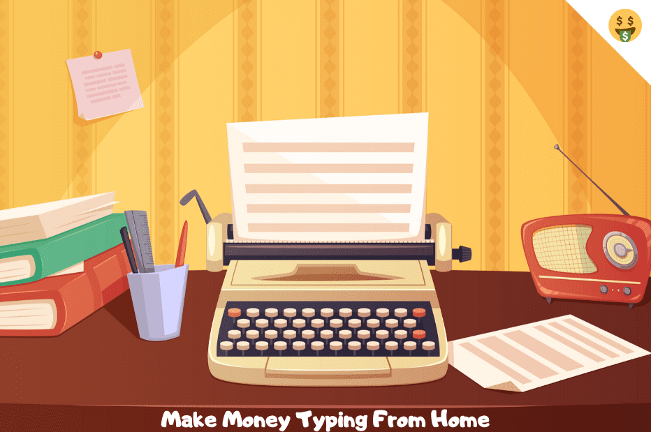 5 Online Jobs You Can Do To Make Money Typing From Home