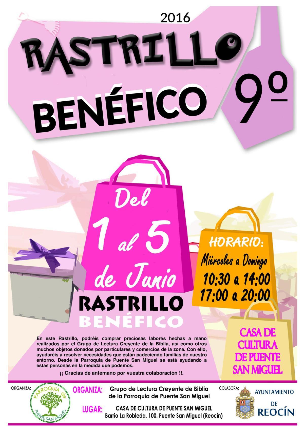 CARTEL RASTRILLO BENEFICO 2016