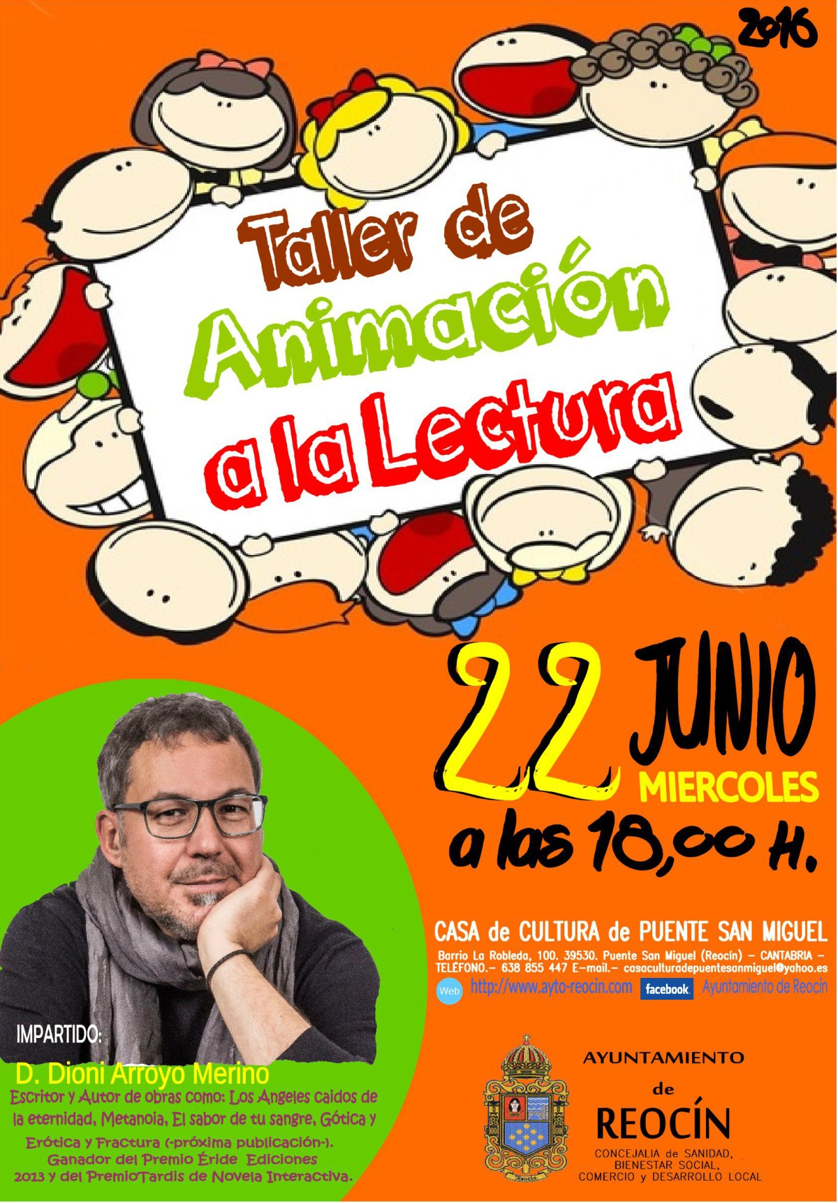 taller de animacion a la lectura 22 de junio2016