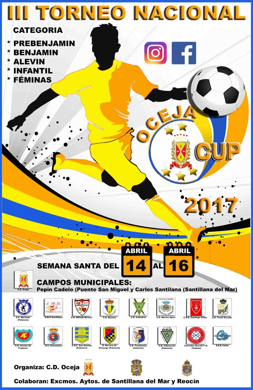 OCEJA CUP 2017