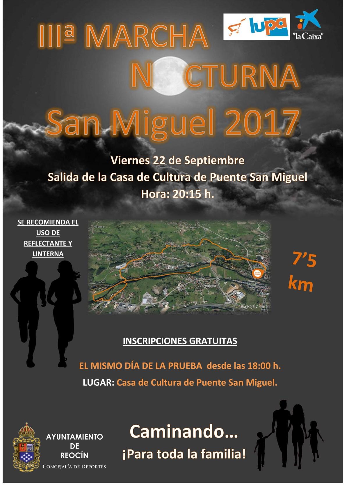 cartel marcha nocturna 2017
