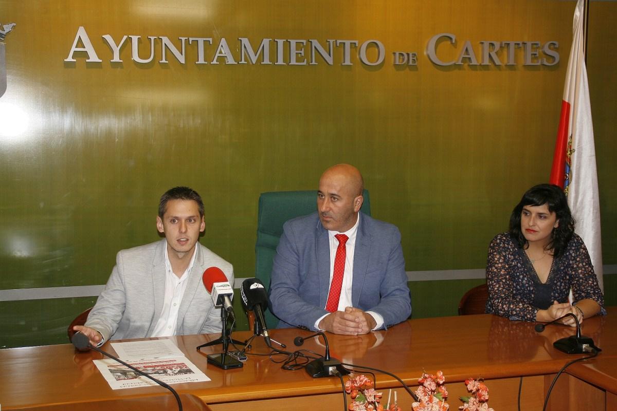 Mario Iglesias Agustín Molleda y Lorena Cueto