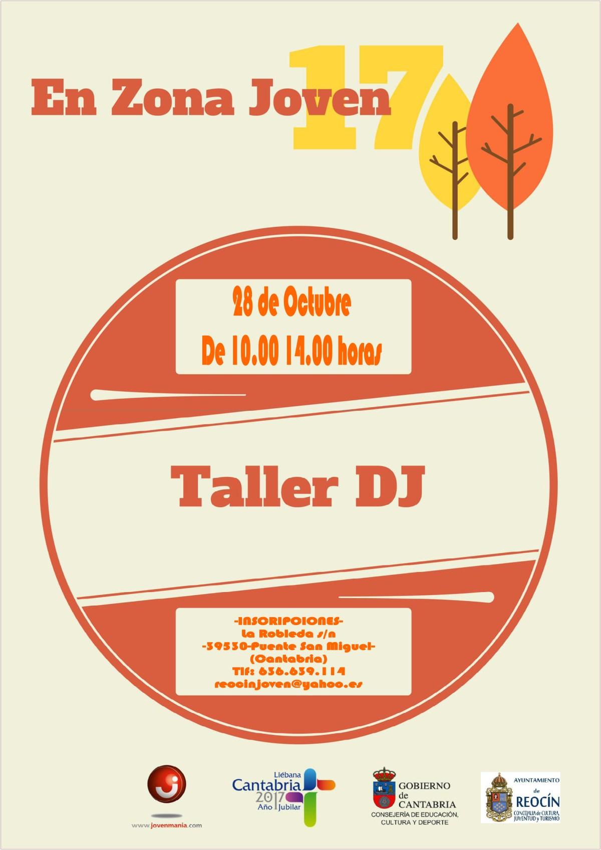 TALLER DJ REOCÍN