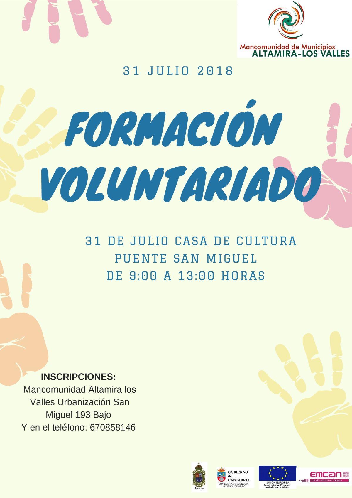 Cartel - Formación Voluntariado