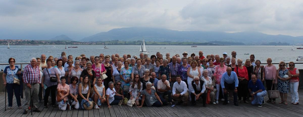 Foto grupal excursión Santander