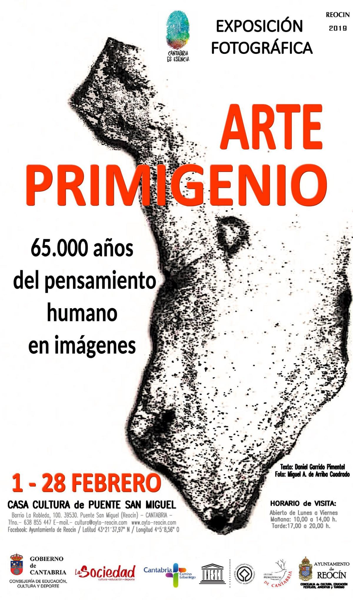 cartel expo arte primigenio