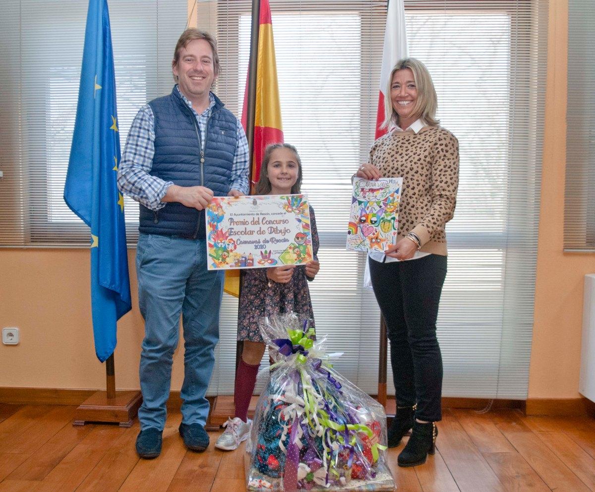Ganadora Concurso Dibujook