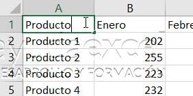 consolidar datos en excel encabezado tabla