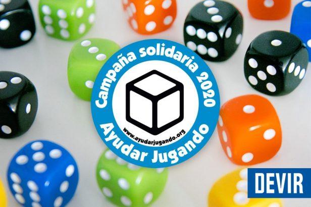 Imagen de la campaña de Devir para Ayudar Jugando