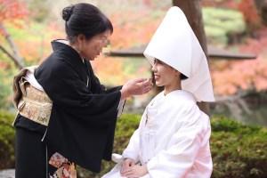 八芳園結婚式の花嫁様