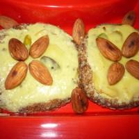 Shahi Tukda (Crispy bread pieces topped with thickened saffron milk)