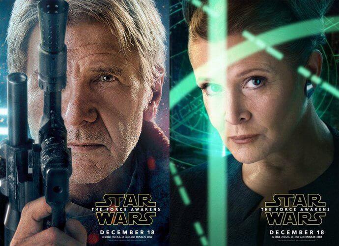 Hans Solo dan Princess Leia