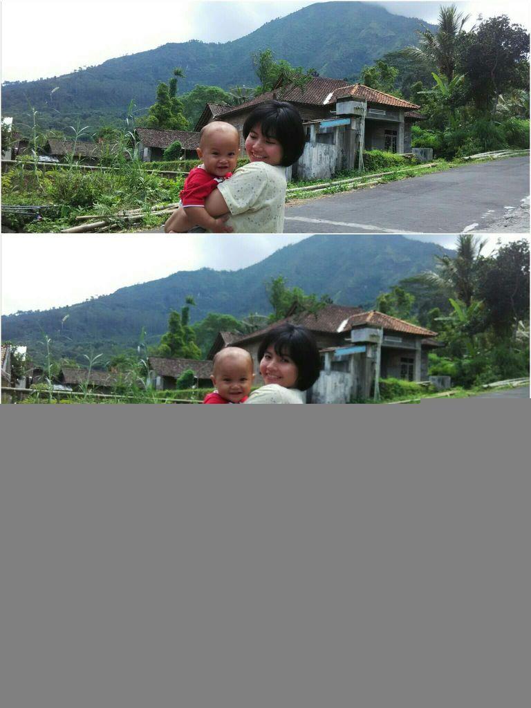 Desa Selomirah, Magelang. Gunung Andong