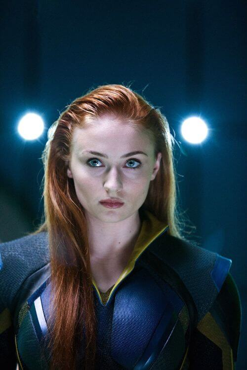 The young version of Jean Grey