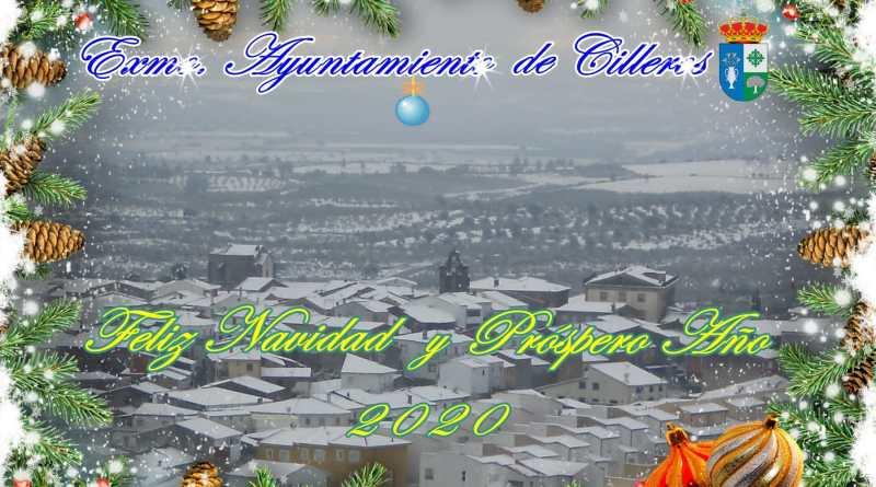 El Exmo. Ayuntamiento de Cilleros les desea Feliz Navidad y Próspero Año 2020