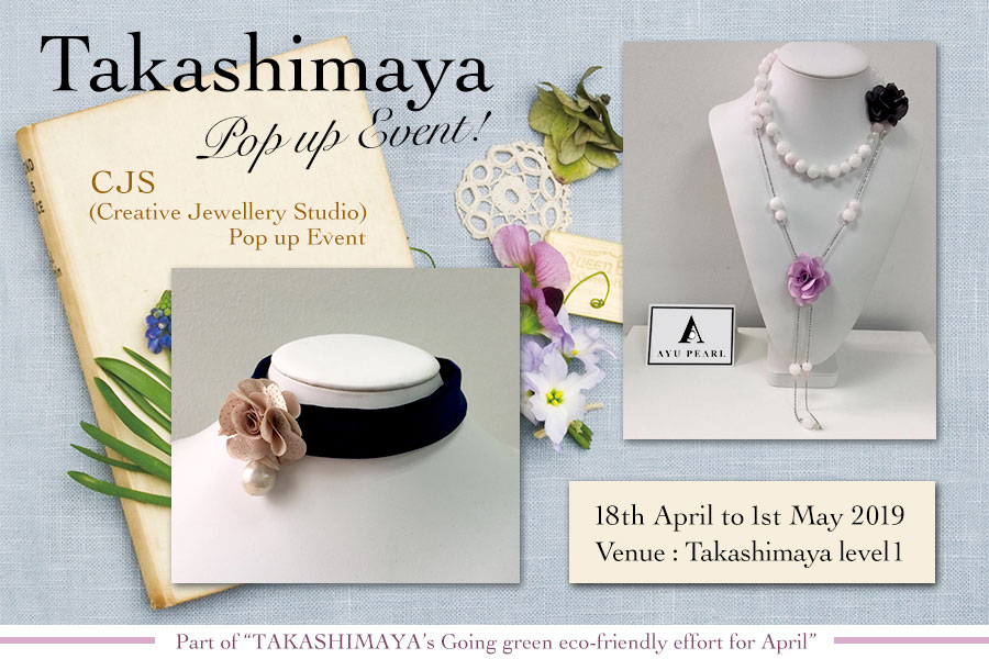 Takashimaya Singapore Pop up Event