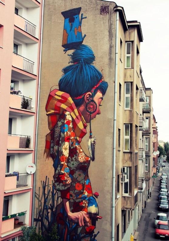 Kota dengan Seni Jalanan Terbaik di Dunia - Seni-Jalanan-Lukisan-Mural-di-Kota-Bethlehem-di-Lodz-di-Polandia-1