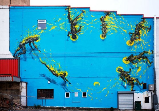 Kota dengan Seni Jalanan Terbaik di Dunia - Seni-Jalanan-Lukisan-Mural-di-Kota-Bristol-di-Inggris-2