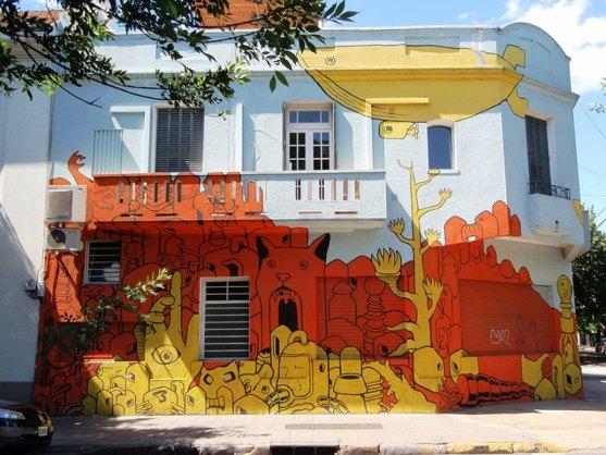 Kota dengan Seni Jalanan Terbaik di Dunia - Seni-Jalanan-Lukisan-Mural-di-Kota-Buenos-Aires-di-Argentina-2