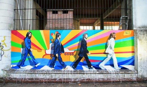 Kota dengan Seni Jalanan Terbaik di Dunia - Seni-Jalanan-Lukisan-Mural-di-Kota-Buenos-Aires-di-Argentina-3