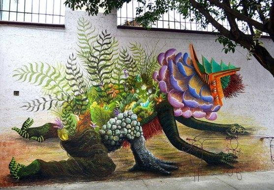 Kota dengan Seni Jalanan Terbaik di Dunia - Seni-Jalanan-Lukisan-Mural-di-Kota-Mexico-City-di-Meksiko-2