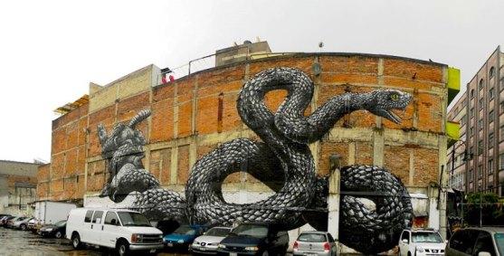 Kota dengan Seni Jalanan Terbaik di Dunia - Seni-Jalanan-Lukisan-Mural-di-Kota-Mexico-City-di-Meksiko-3