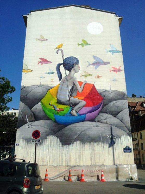Kota dengan Seni Jalanan Terbaik di Dunia - Seni-Jalanan-Lukisan-Mural-di-Kota-Paris-di-Perancis-3