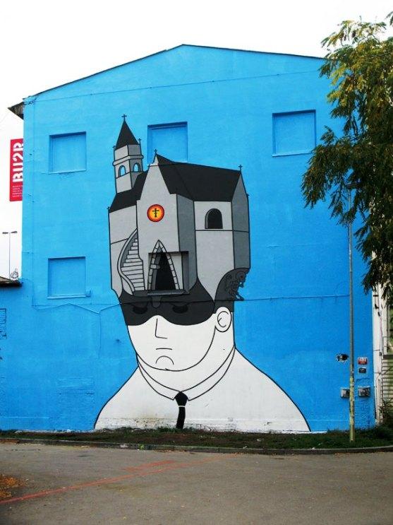 Kota dengan Seni Jalanan Terbaik di Dunia - Seni-Jalanan-Lukisan-Mural-di-Kota-Praga-Republik-Ceko-4