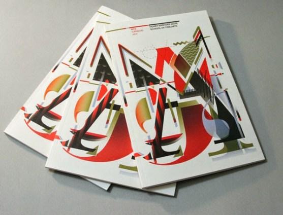 Contoh Desain Katalog Atraktif - Contoh-desain-katalog-Indiana-University-Fine-Arts-2014-MFA-Catalog-oleh-You-Zhang