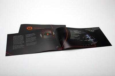 Desain brosur cantik dan profesional untuk promosi