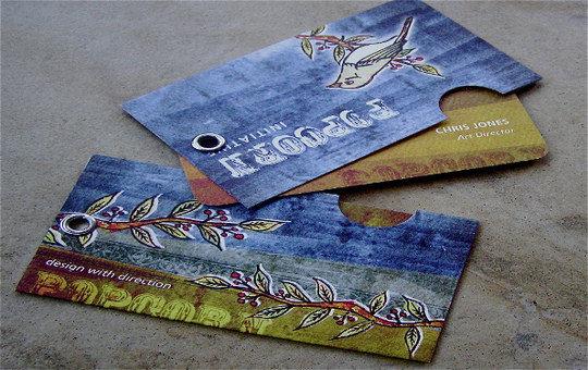 50 Desain Kartu Nama Unik dan Inspiratif - kartu-nama-profesional-unik-cantik-elegan_16