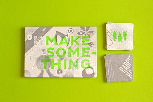 Desain Kartu Nama dengan Cetak Letter Press - makesomething