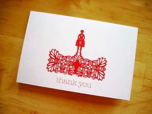 Desain Kartu Ucapan Terima Kasih - Contoh Desain Grafis Kartu Ucapan Terima Kasih-20