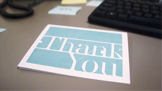 Desain Kartu Ucapan Terima Kasih - Contoh Desain Grafis Kartu Ucapan Terima Kasih-31
