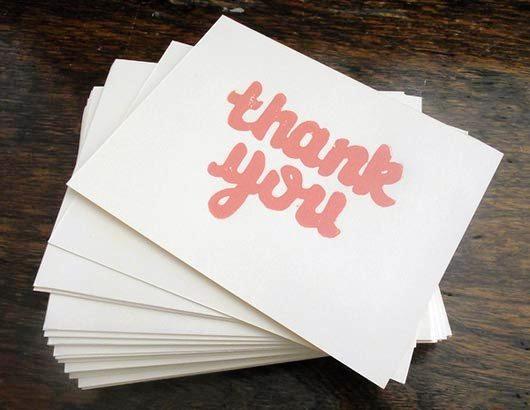 Desain Kartu Ucapan Terima Kasih - Contoh Desain Grafis Kartu Ucapan Terima Kasih-35