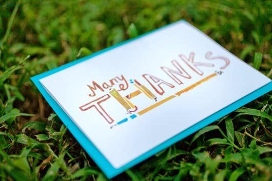 Desain Kartu Ucapan Terima Kasih - Contoh Desain Grafis Kartu Ucapan Terima Kasih-48