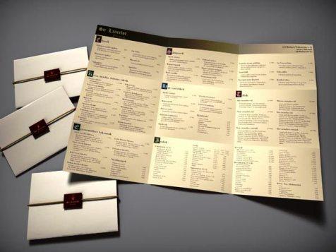 Desain menu restoran yang akan menginspirasi Anda