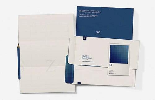 Contoh Desain Kop Surat dan Corporate Identity Inspiratif 02