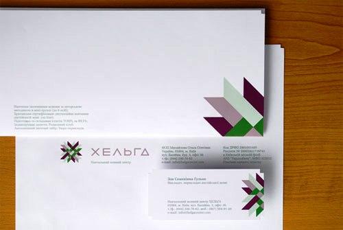 Contoh Desain Kop Surat dan Corporate Identity Inspiratif 09
