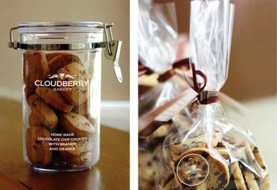 Contoh Desain Kemasan Roti Kue dan Biskuit - Kemasan-Roti-Biskuit-dan-Kue-Cloudberry-Bakery