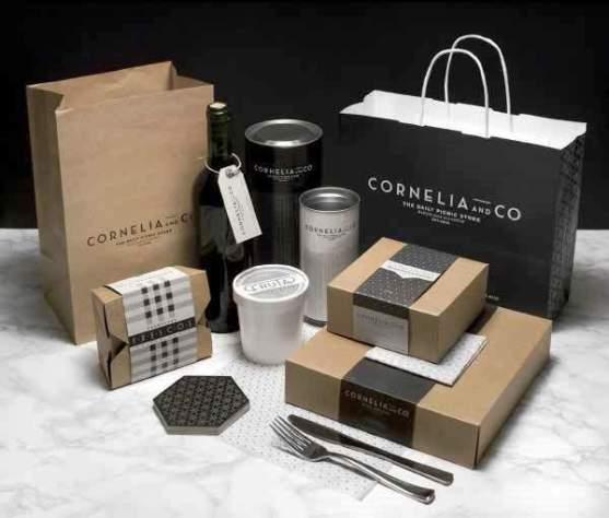 Contoh Desain Kemasan Roti Kue dan Biskuit - Kemasan-Roti-Biskuit-dan-Kue-Cornelia-and-Co-Packaging